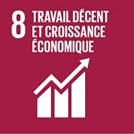Objectif de développement durable n°8 : Travail décent & croissance économique